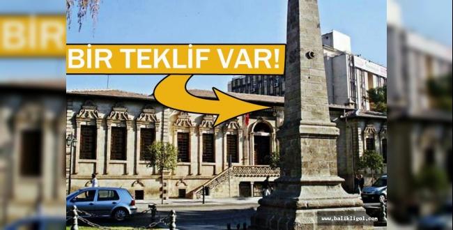 Urfa'daki bu anıt için bir teklif var!
