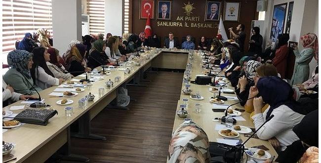 Başkan Beyazgül, Şanlıurfa'daki Kadın STK'lar İle Bir Araya Geldi