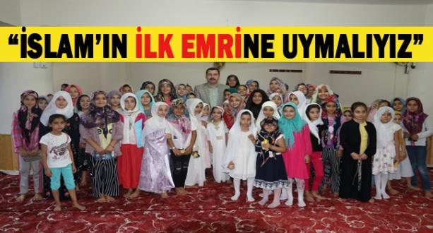 Başkan Metin Baydilli: Çokça okumalıyız