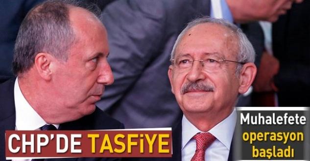 CHP'de kurultay kavgası sonrası tasfiye sürecine başladı