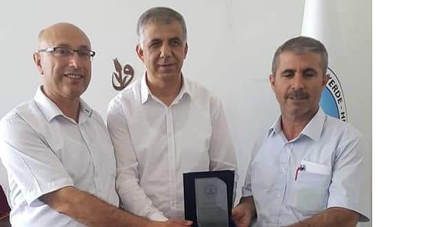 Eyyübiye Halk Eğitim Merkezi müdürü değişti