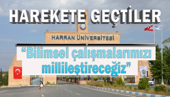 Harran Üniversitesi Senatosu ABD'nin Ekonomik Ambargo Kararını Kınama Mesajı