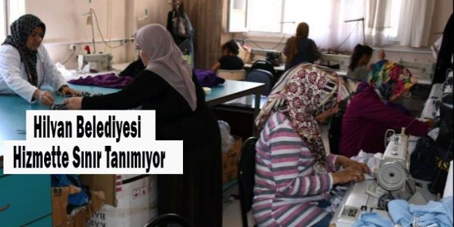 Hilvan'da kadınlara meslek öğretiliyor