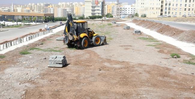 Karaköprü Seyrantepe'ye 10 bin m2'lik modern park yapılıyor
