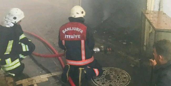 Kunduracılar Pazarındaki Yangın Paniğe Neden Oldu