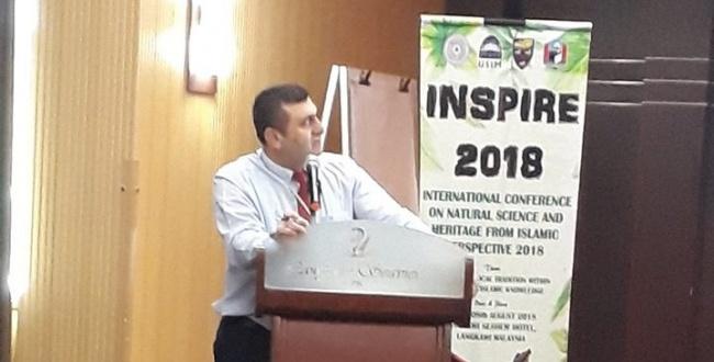 Şanlıurfa'dan Malezya'daki Uluslararası Botanik Konferansına Katılım