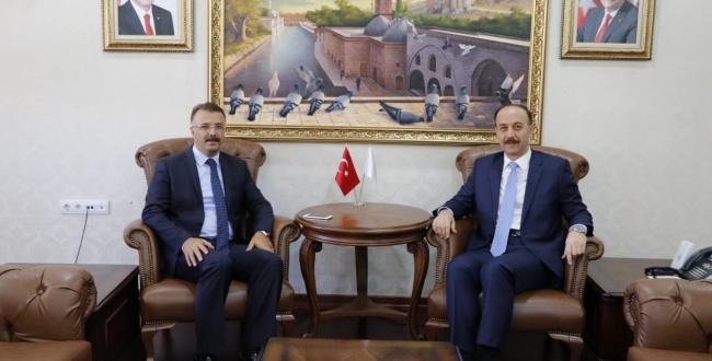 Urfa Başsavcısı Tolgahan Öztoprak'tan Valiye Ziyaret