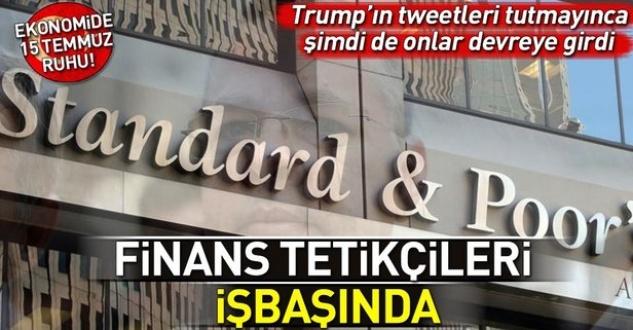 Trump'ın tweetleri tutmayınca tetikçi S&P ve Fitch devreye girdi