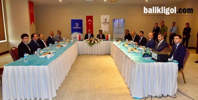 2018-Karacadağ Kalkınma Ajansı Eylül ayı toplantısını yaptı