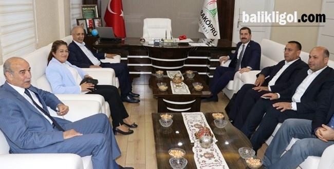 Ak Parti Yerel Yönetimler Başkan Yardımcısı Salih Fırat'tan Başkan Baydilli'ye Ziyaret