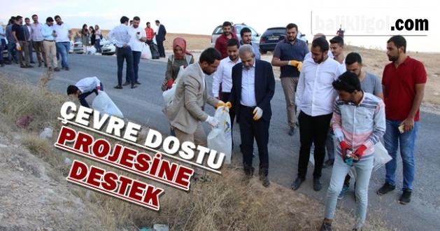Başkan Demirkol Gençlerle Çöp Toplandı