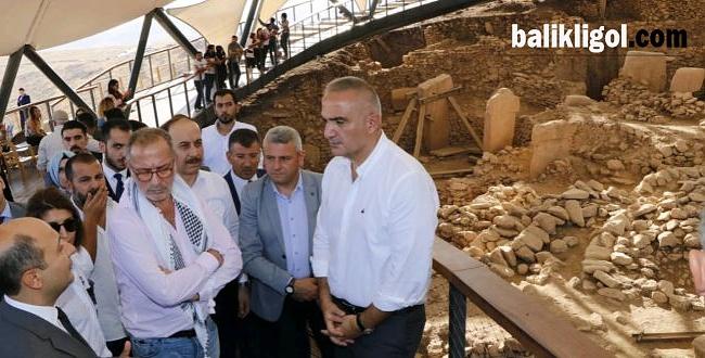 Kültür ve Turizm Bakanı Nuri Ersoy Göbeklitepe'de