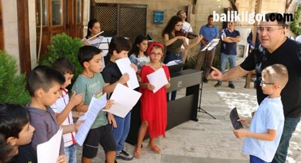 Şanlıurfa Büyükşehir Çocuk Korosu, Konsere Hazırlanıyor