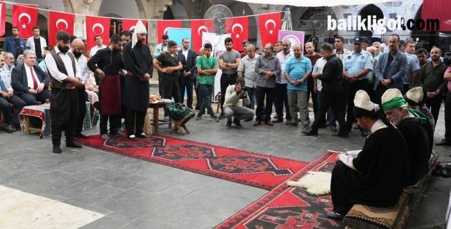 Şanlıurfa'da Ahilik Haftası Etkinleri Başladı
