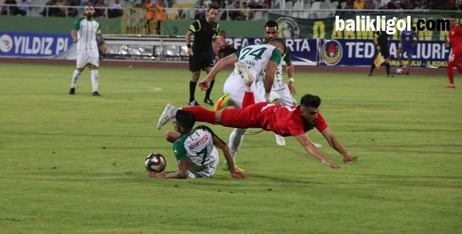 Şanlıurfaspor - Sivas Belediyespor: 1-0