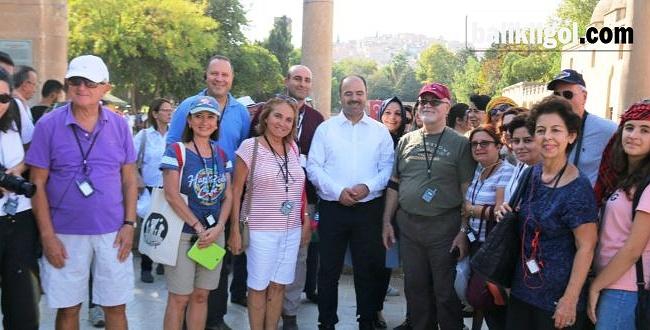 Tarihi Kentler Birliği Belediye Başkanları Şanlıurfa Tarihine Hayran Kaldılar