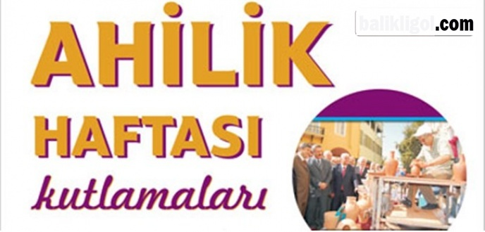 Tirit Ziyafeti de var! Urfa'da Ahilik Haftası Programı-2018