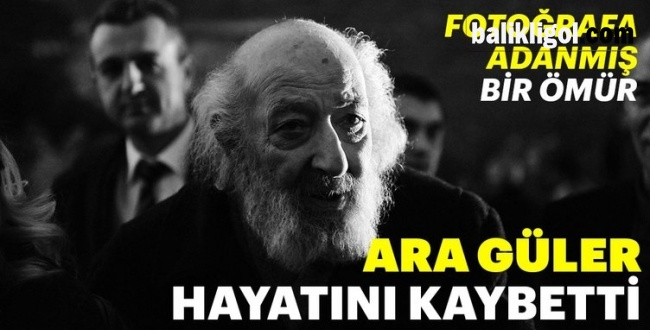 50 yıl önce Harran'ı da fotoğraflayan Ara Güler hayatını kaybetti