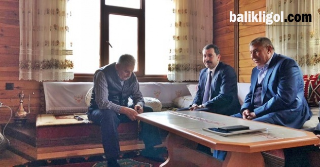 Başkan Baydilli TBMM Başkanı Yıldırım'la Görüştü