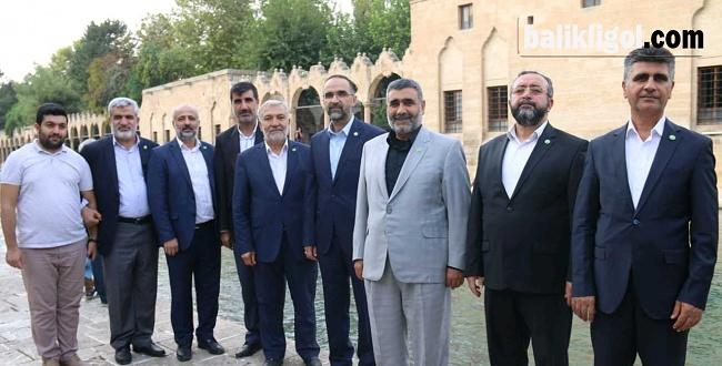HÜDA-PAR Genel Başkanı İshak Sağlam Şanlıurfa'da
