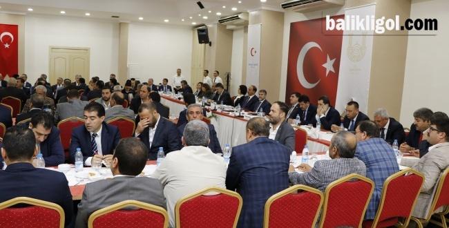 Nurettin Nebati Başkanlığında 81 ilinde gerçekleşecek toplantının ilki Urfa'da yapıldı