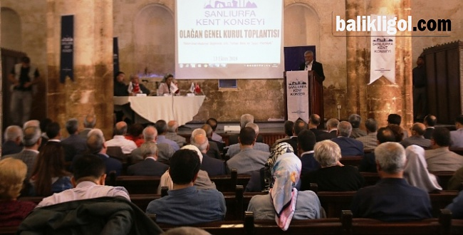 Şanlıurfa Kent Konseyi Olağan Genel Kurulu Yapıldı VİDEOLU