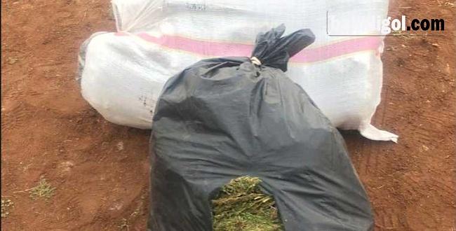 Yakalanacağını Anlayanca Uyuşturucu Torbalarını Atıp Kaçtı