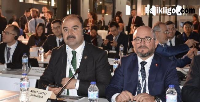 Başkan Çiftçi, İspanya'da UCLG-MEWA Toplantısına Katıldı