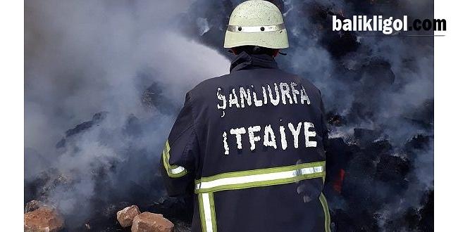 Bozova'da Yangın