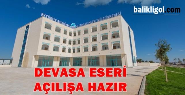 Eyyübiye Belediyesi Hasta Yakınları Misafirhanesi Açılıyor