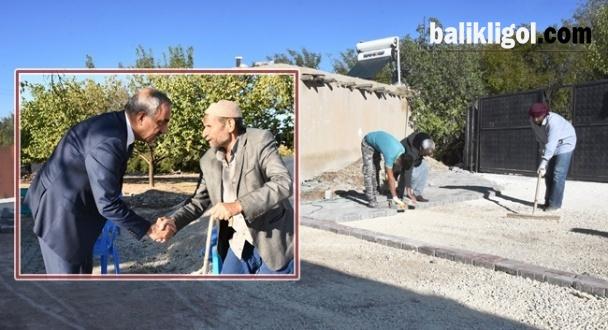 Hilvan'da üst yapı yol çalışmaları devam ediyor