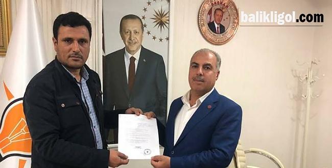 Hümeyit Bilbay, Eyyübiye Belediye Başkan aday adayı oldu