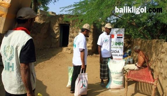İHH'dan Yardım Seferberliği, 13 bin Yemenli'ye acil yardım dağıttı