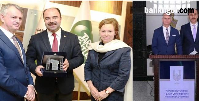 Kanada Büyükelçisi Chris Cooter Şanlıurfa'da