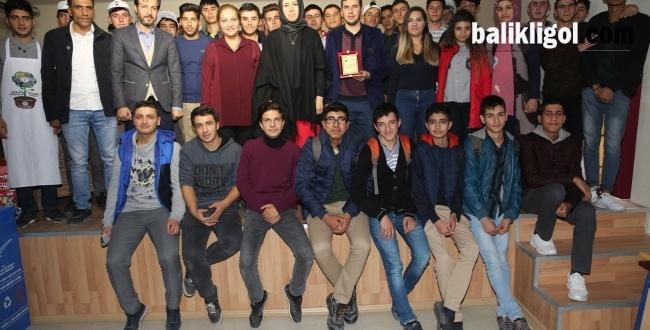Karaköprü'de öğrencilere çevre bilinci önemi anlatıldı