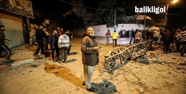 Katil İsrail Yine Saldırdı! El Aksa televizyonunu Yerle Bir Ettiler