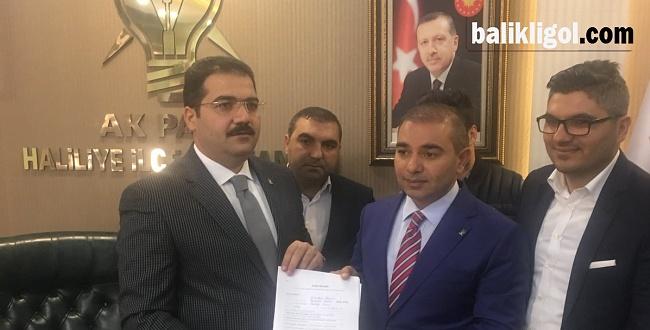 Mustafa Zahit. Haliliye Belediye Başkan Aday Adayı Oldu