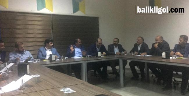 Şanlıurfaspor'da Yeni Yönetim Kurulu Görev Dağılımı Yapıldı