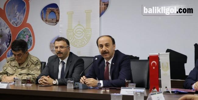 Urfa'da uyuşturucuyla mücadele masaya yatırıldı