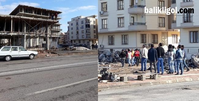 Viranşehir'de İnşaat Işçisi Elektrik Akımına Kapıldı