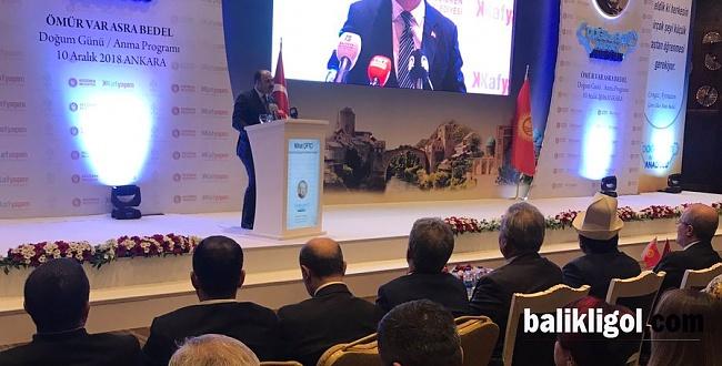 Başkan Çiftçi, Ünlü Yazar Aytmatov'un Anma Etkinliğine Katıldı