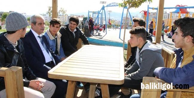 Başkan Demirkol: 33 Parkı Haliliye'mize Kazandırdık