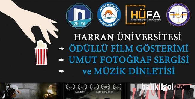 Harran Üniversitesinde Film Gösterimi ve Söyleşi
