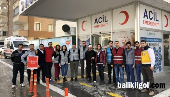 Özel Metrolife Hastanesi Deprem Tatbikatını Gerçekleştirdi