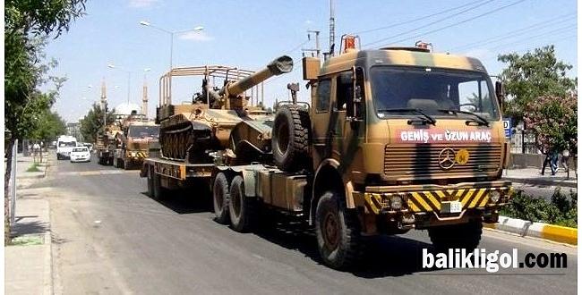 Şanlıurfa'ya askeri sevkıyat yapılıyor