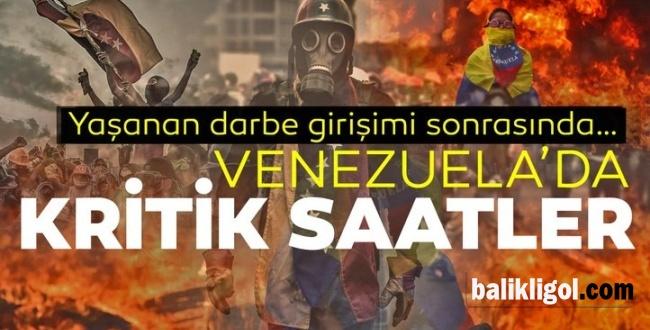 ABD Venezuela'da darbe Girişiminde Bulundu! Venezuela direniyor!