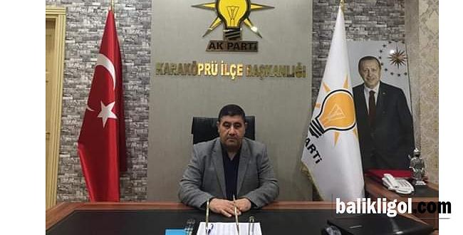 AK Parti Karaköprü SKM'nin Başına Kemal Şimşek getirildi