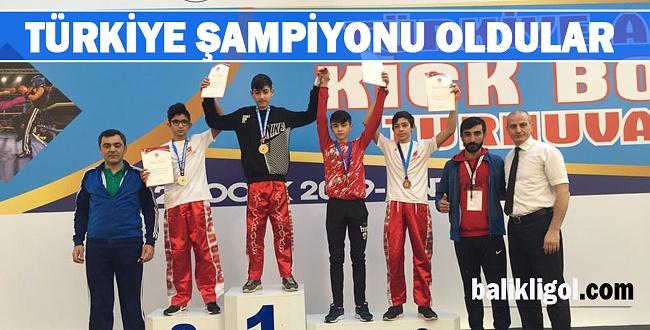 Haliliye Takımı Türkiye şampiyonu oldu