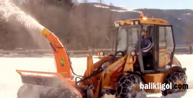 Kar Urfa'da Yolları Kapattı