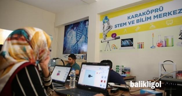 Karaköprü'de sömestr yarıyıl tatilinden STEM kursu açılıyor